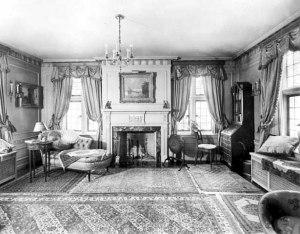 Daughter's boudoir, looking west