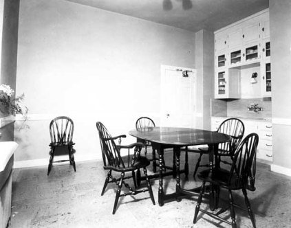 Maid's dining room
