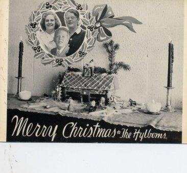 Hylbom Christmas card 1951