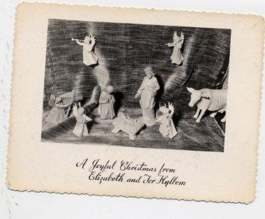 Hylbom Christmas card 1955