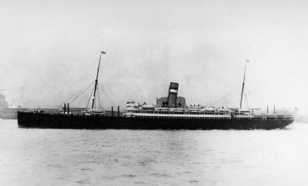 S.S. Kungsholm (photo from Ellis Island Archives)