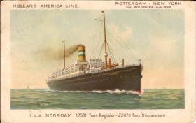 T.S.S Noordam, later known as S.S. Kungsholm, 1916 (SAL)