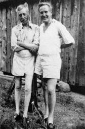 Tor Emil Hylbom 1934 (right)