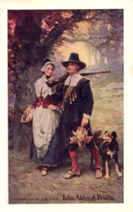 J.L.G. Ferris painting from 1907 of the couple (with dog and grouse).