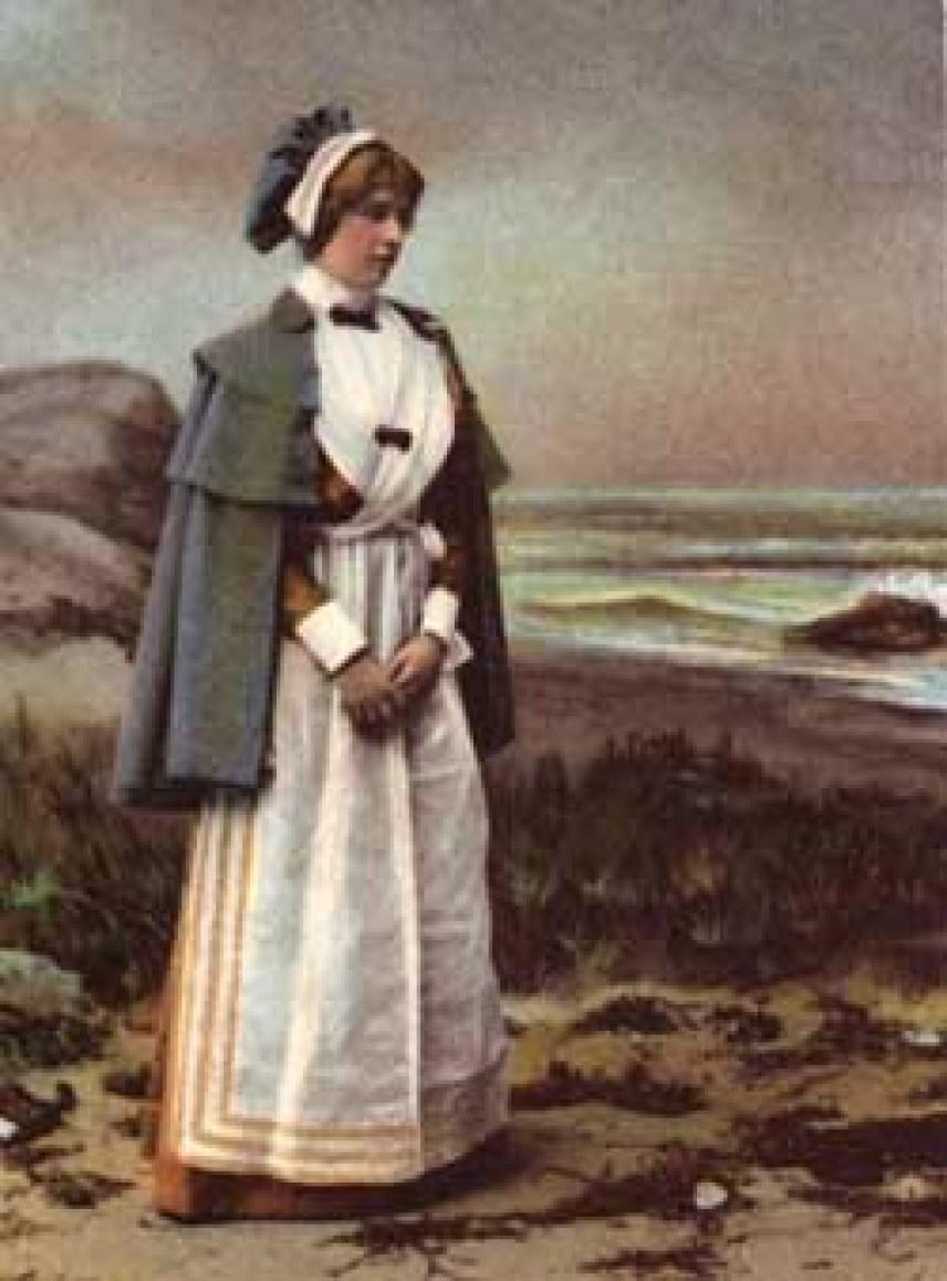 Priscilla by the Seashore (Ullman Mfg. Co. 1899)