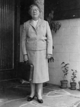 Elizabeth (Hamlin) Hylbom, 1958
