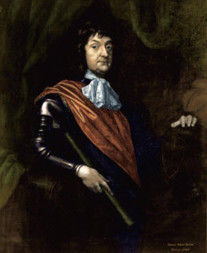 This portrait hangs in the home of Lady Claire Overton in London, England. Lady Claire is the widow of Sir Hugh Overton (1923-1991). It was painted about 1640 by William Dobson (1610-1646), the apprentice of William Peake, a relative of Elizabeth Waters, wife of the immigrant, William Overton.