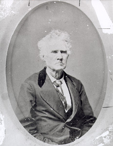Judge Edwin Waller (1800-1881), signer of the Texas Declaration of Independence