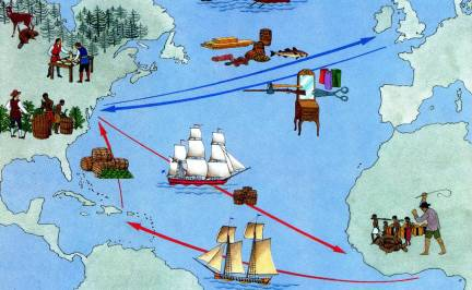 triangular-trade-map