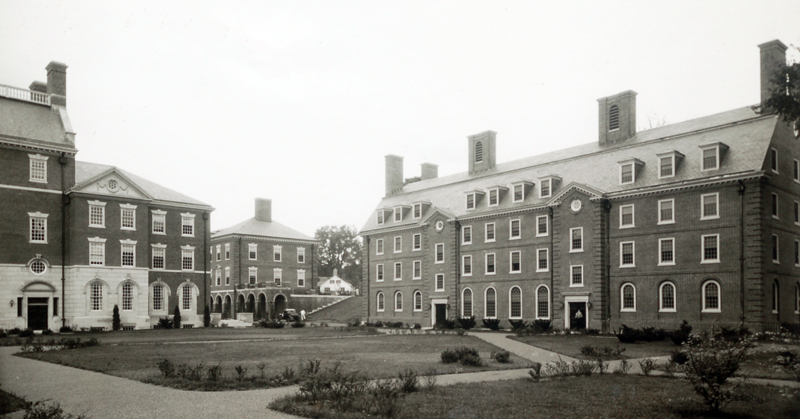 Wheelwright Hall at Phillips Exeter Academy (Exeter, New Hampshire) is named for John Wheelwright.