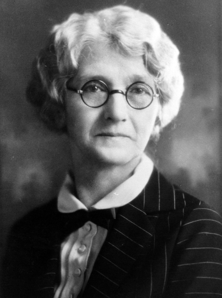 Ella Tuveson (1865-1937), my maternal g-grandmother