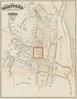 Hartford, Connecticut - 1640 map