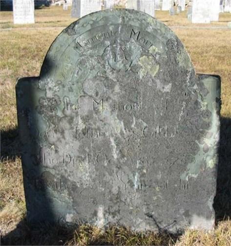 Joshua Gibbs (1690-1765), Agawam Cenmetery, Wareham, Massachusetts (photo credit: johnmorrison77)