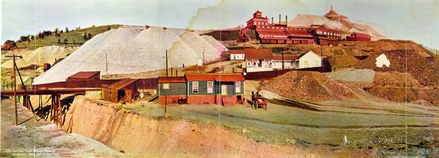 Portland Mine, Cripple Creek Mining District, Victor, Colorado (photo credit: Victor Lowell Thomas Museum, USGS, and Johnny Johnsson)