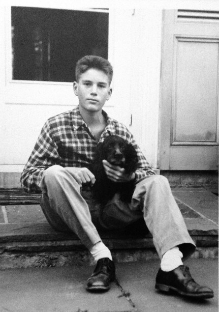 Rusty Walholm and Poli; photo taken 26 Sep 1947 (both age 14)