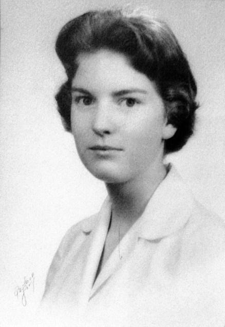Penelope Jane Walhom - Senior photo, Emma Willard School; taken Fall 1957