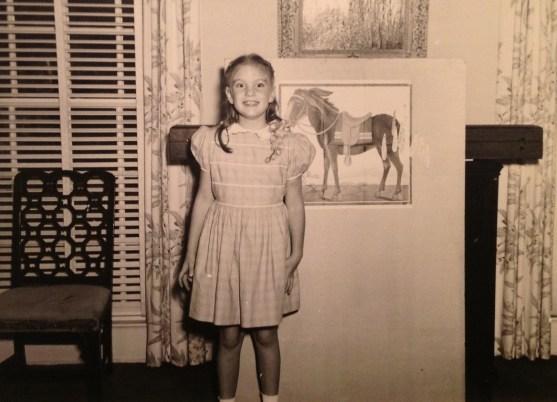 Penny Walholm, 8th birthday, Winnetka, Illinois,1947