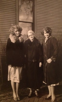 Ella Tuveson Walholm (my g-grandmother) and Mildred & Nellie, my grand aunts