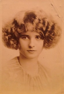 Mildred Walholm, my grand aunt (grandfather's sister)