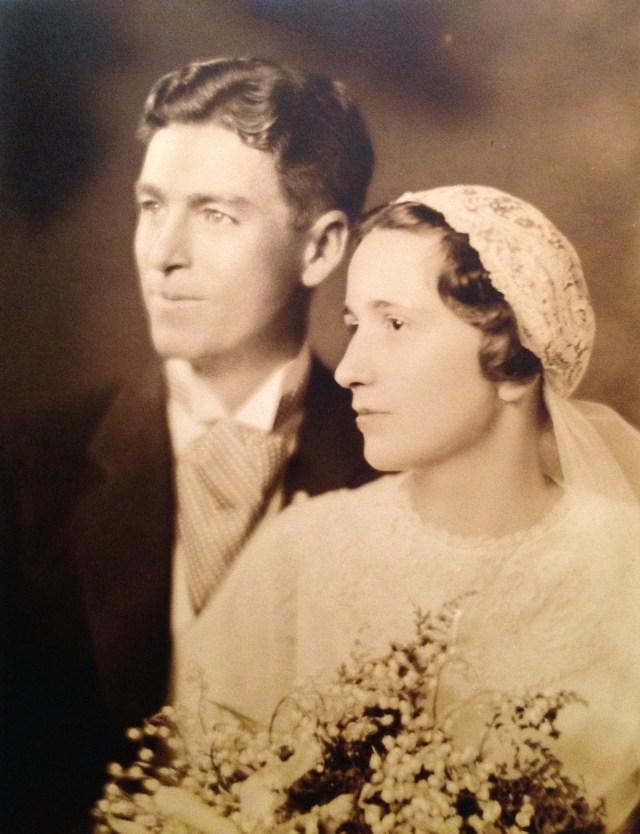 Roy W. Walholm & Florence E. Watkins - married 16 Oct 1932