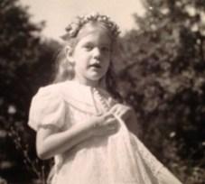 Penny Walholm, probably 1945-6