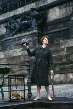 Penny Hylbom, somewhere in Europe (mid 1960s)