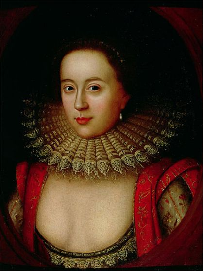 Portrait of Frances Howard by William Larkin, c. 1615