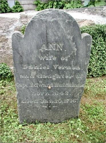 Anne Hutchinson (1643-1718)