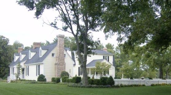 "Waller House (""Endfield""), across the river from Walkerton, Virginia"