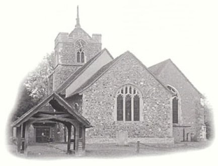 The Church of St. Peter-Ad-Vincula in Roydon, Essex, England