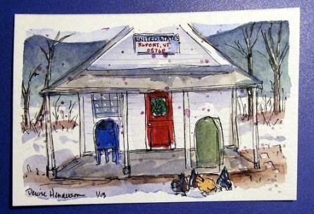 Post Office, Rupert, Vermont