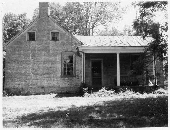 Daniel Trabue House: The Daniel Trabue House was built in the 1820s on a hill overlooking the town of Columbia. Courtesy of the National Park Service.