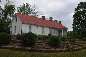 Daniel Trabue house, built in 1823.