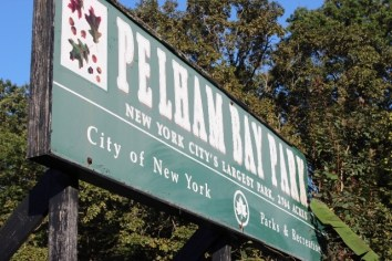 Pelham Bay Park sign
