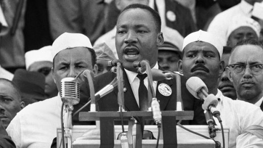 "The Rev. Martin Luther King Jr.'s 'I Have a Dream' speech, delivered on the National Mall in Washington, D.C., 28 Aug 1963, is among the most acclaimed in U.S. history. His soaring close ""to let freedom ring"" still resonates today and inspires those who are moved by his dream."