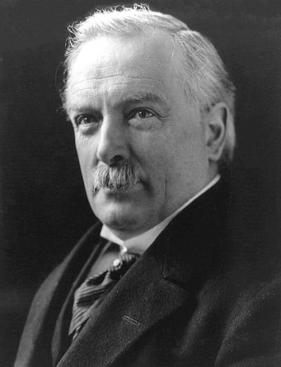David Lloyd George, 1st Earl Lloyd-George of Dwyfor, OM PC (1863-1945) was a British Liberal politician and statesman.