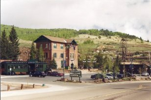 Colorado Trading and Transfer Building and Midland Railroad Depot, Bennett Avenue and 5th Street, Cripple Creek (2003)