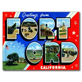 Fort Ord, California (old postcard image)