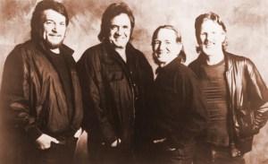 """The Highwaymen"" (from left) Waylon Jennings, Johnny Cash, Willie Nelson and Kris Kristofferson."