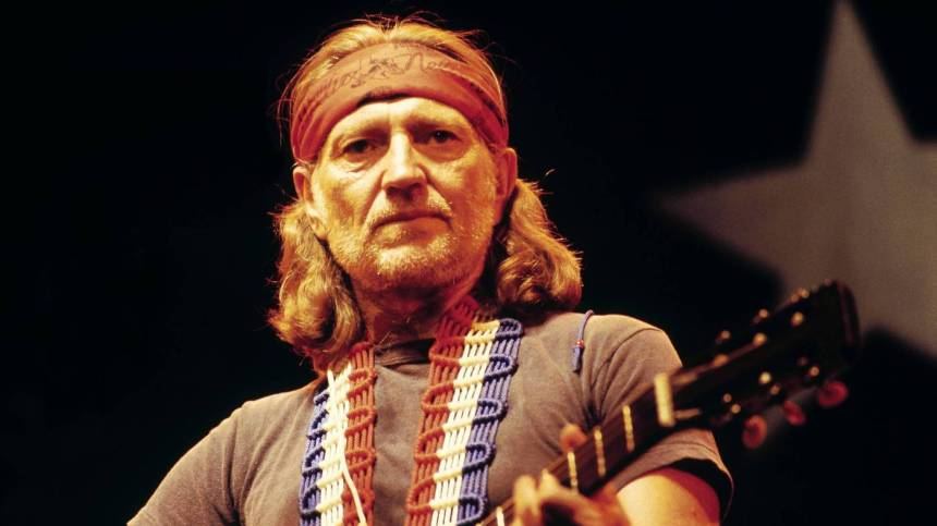 Willie Nelson, seen performing in the U.K. in 1980 (David Redfern / Getty Images)