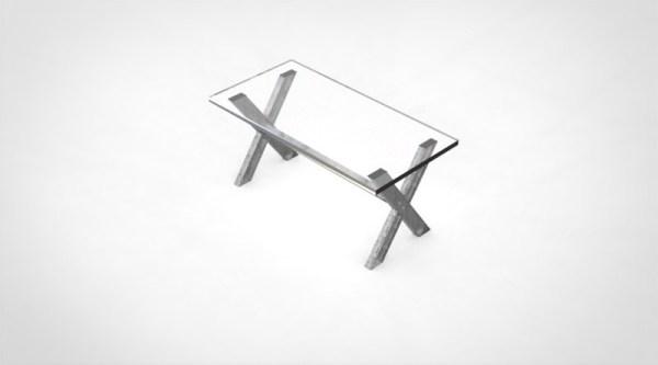 table industrielle deco loft