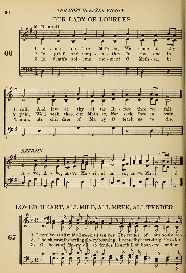 Immaculate Mother Song Lyrics : immaculate, mother, lyrics, Immaculate, Mother,, Hymnary.org