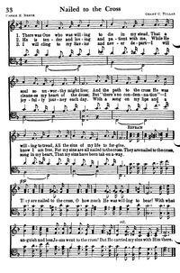 Nail To The Cross Lyrics : cross, lyrics, Nailed, Cross, Hymnary.org