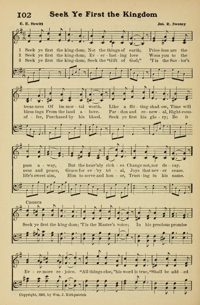 Seek Ye First Lyrics : first, lyrics, First, Kingdom, Lyrics, LyricsWalls