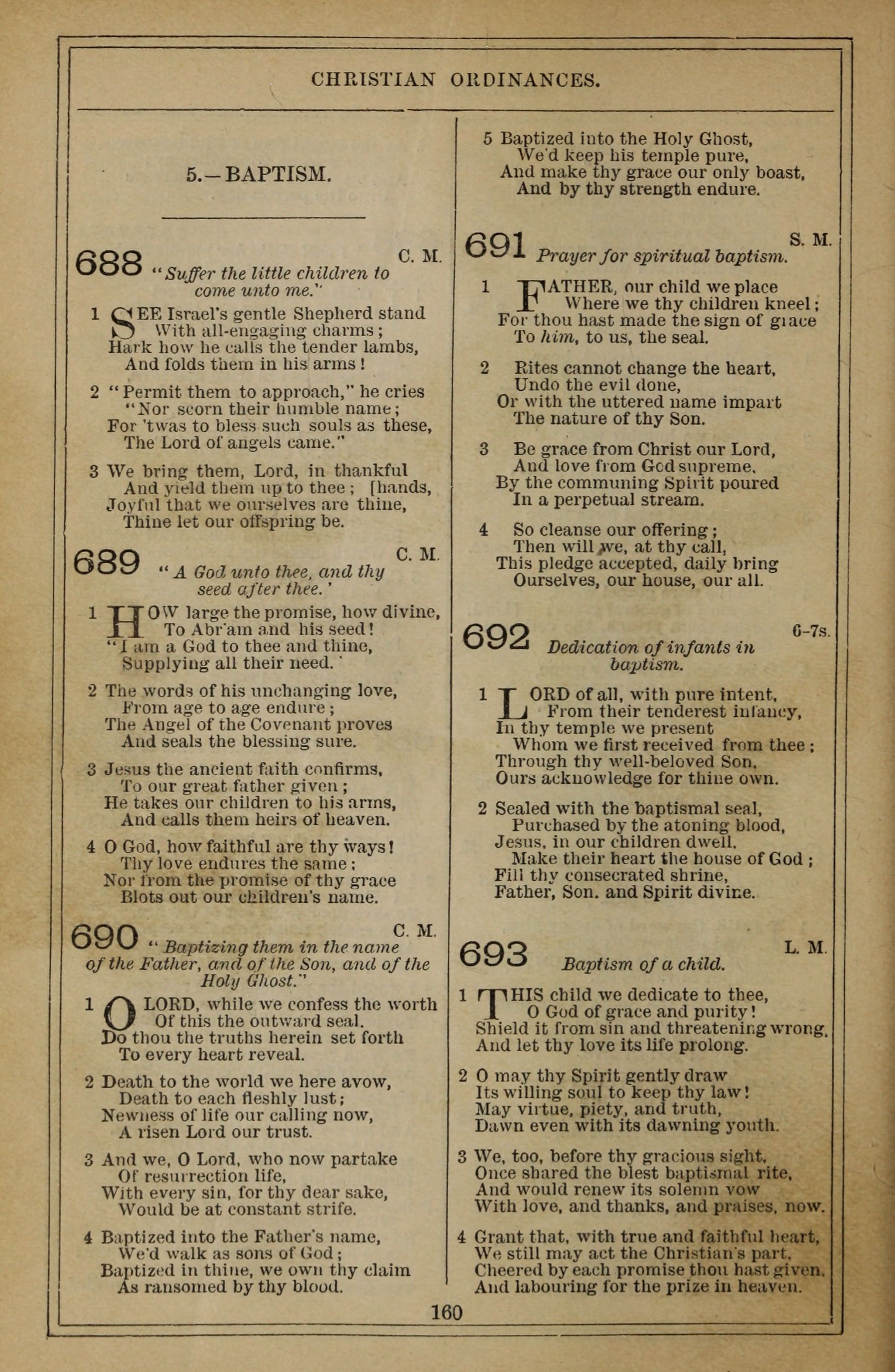 Methodist Hymn-Book 579. Come, Holy Ghost, all-quickening