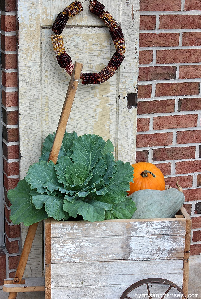 Fall Outdoor Decor - Hymns and Verses
