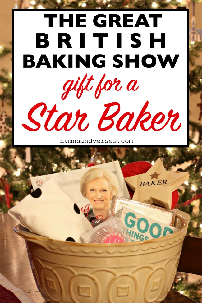 The Great British Baking Show Gift for a Star Baker - Hymns and Verses