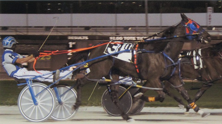 So Reserved winning a race at Pompano Park on December 22, 2013