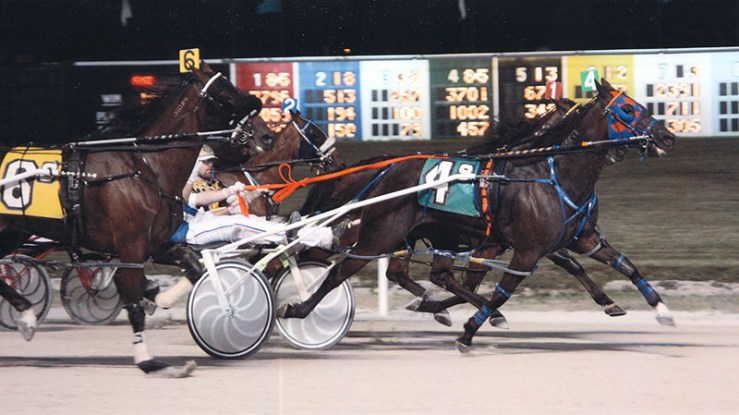 So Reserved winning a race at Maywood Park on September 6, 2013