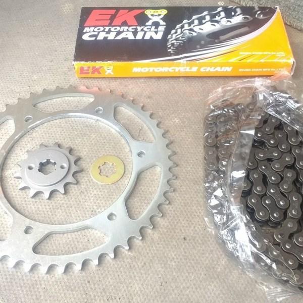 Hyosung gt125r gt250r Chain & Sprocket Kit